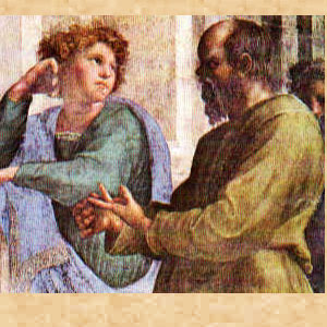Socrates with Student